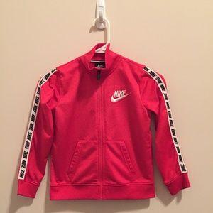 Nike Jackets & Coats - Nike Zip-Up Track Jacket Size 6-7 Years